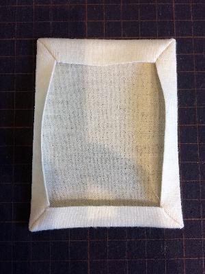 パッチポケットの角の作り方